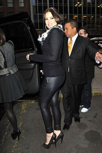 Khloe kardashian see through shirt
