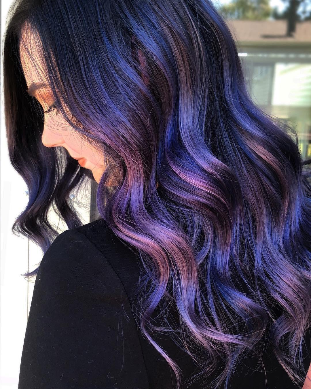 30 Lovely Purple Hair Color Ideas Trending In 2020 Hair Color Purple Hair Color For Women Purple Ombre Hair