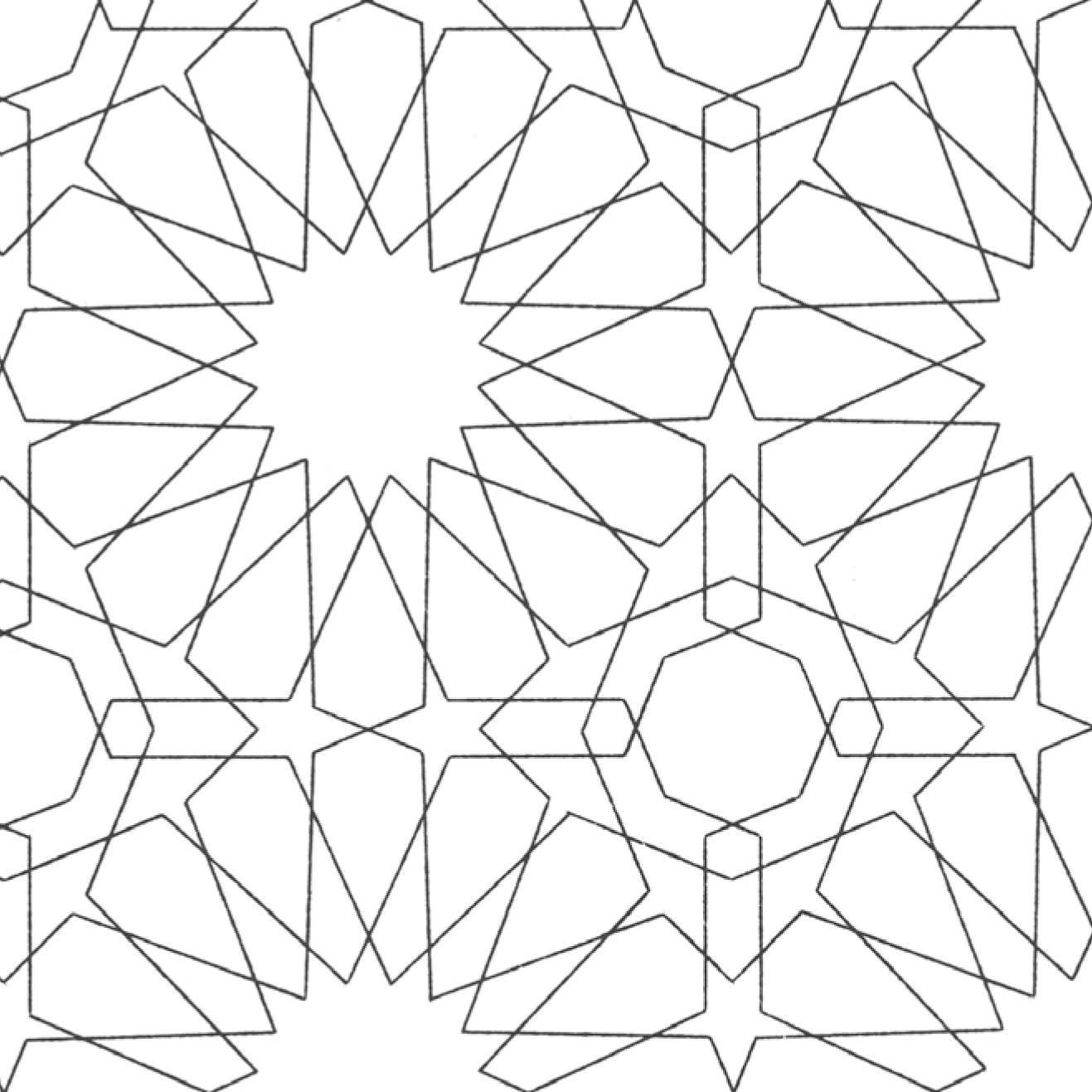 arabicpatterns Colouring Pages | islamic geometric | Pinterest ...