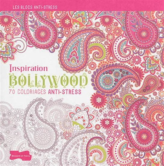 Bollywood Inspiration: 70 Stress coloring
