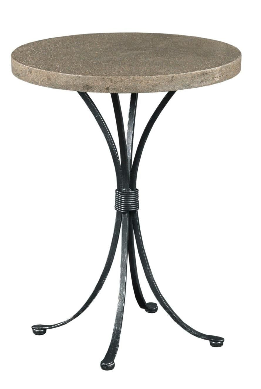 Transitional Round Chairside Table With Concrete Top Chair Side Table Furniture Wolf Furniture [ 1321 x 889 Pixel ]