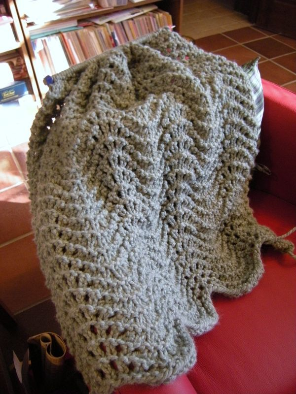Simple Knitted Prayer Shawl Pattern | Knit Shawl Patterns for Prayer ...