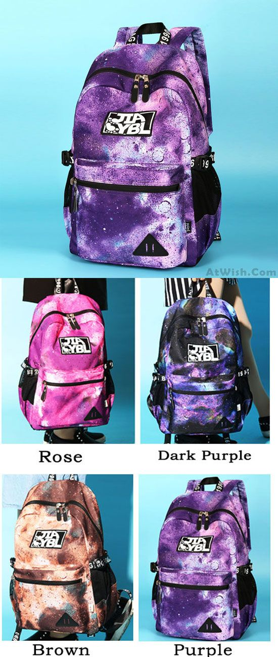 985e2aaf3e2 Leisure Large Universe Polyester School Rucksack Galaxy Travel ...