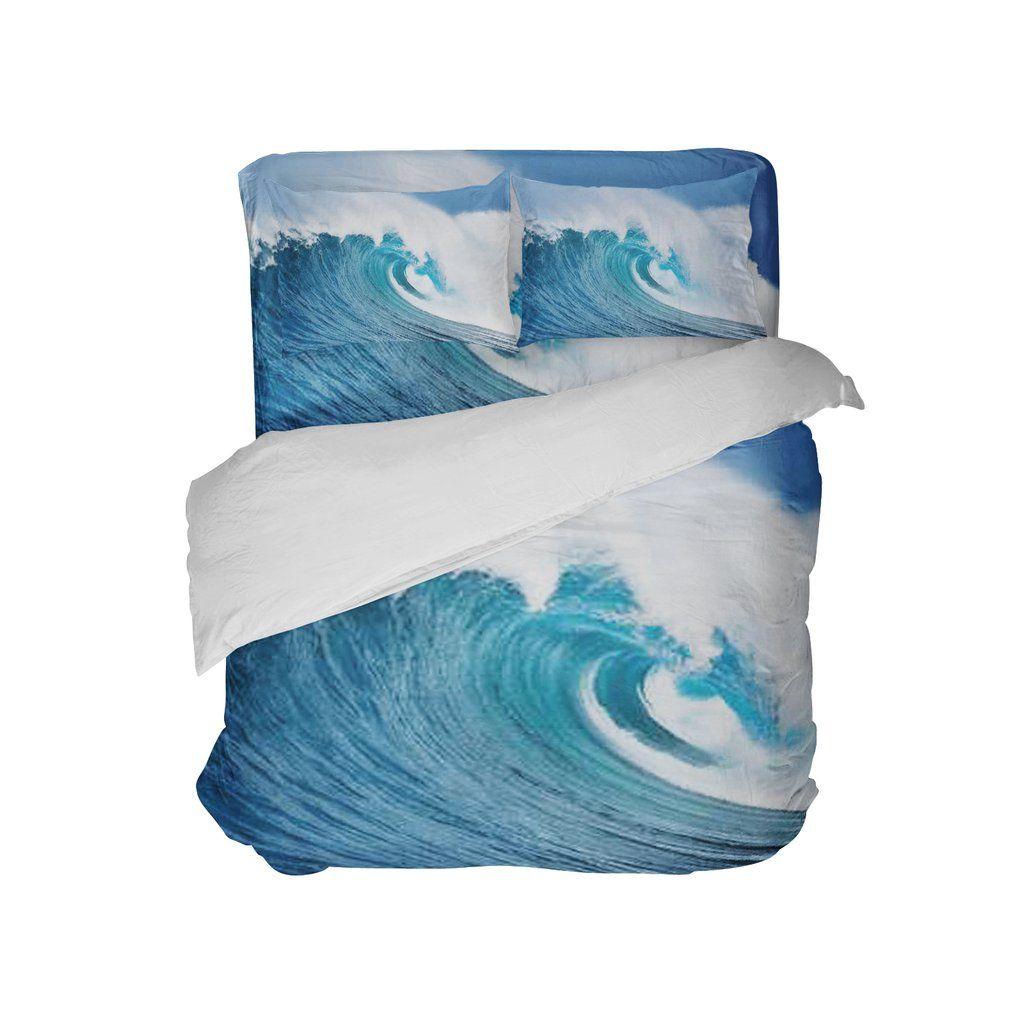 Ocean Wave Surf Comforter Set from Kids Bedding Company ...