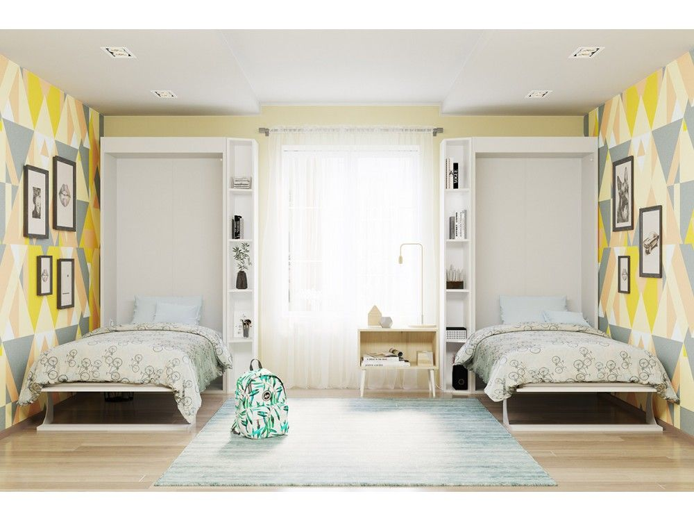 bellezza piccola twin twin xl wall bed in 2020 murphy on wall beds id=33520