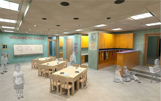 Classroom Design Architecture ~ Kindergarten classroom architecture design parallel