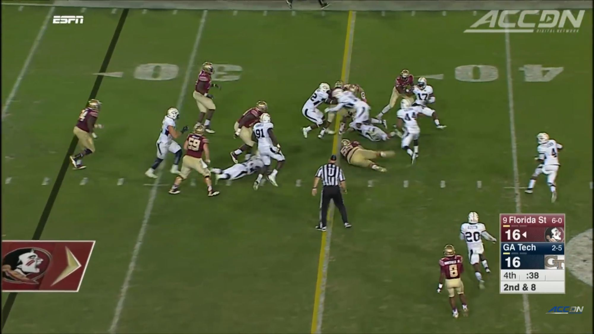 GAME 7 Florida State [9] vs. Tech 2015 Full