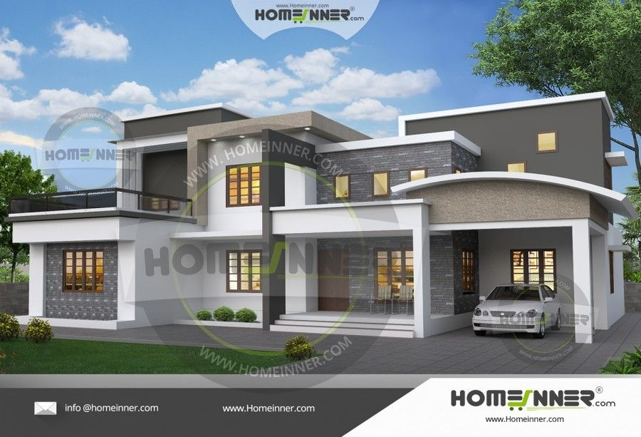 2400 Sq Ft 3 Bhk Attractive Home Plan Photos House Design Free House Plans Architectural House Plans