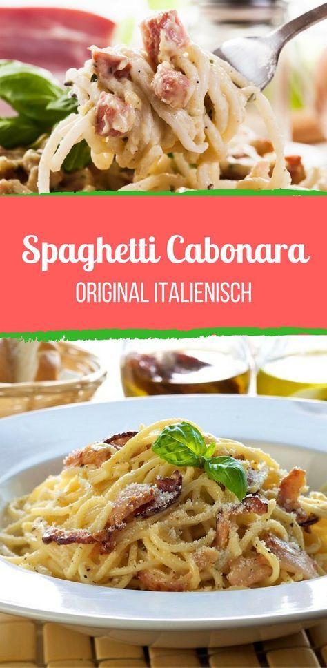 Spaghetti Carbonara – ganz ohne Sahne!