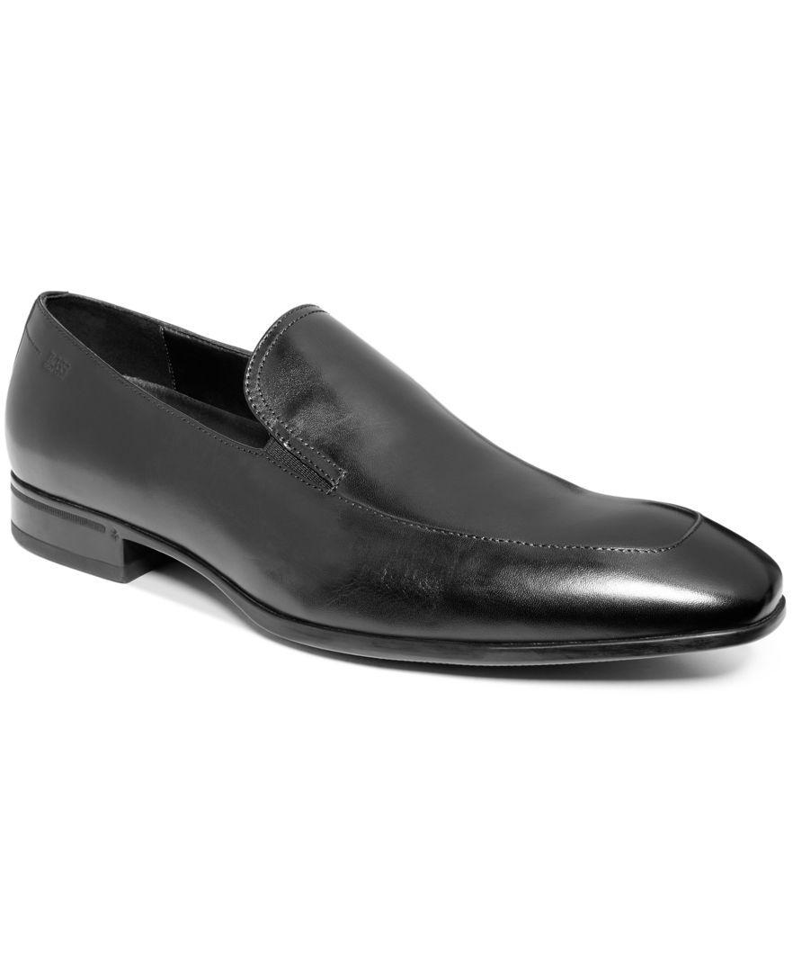 Hugo Boss Boss Varmons Moc-Toe Slip-On Loafers