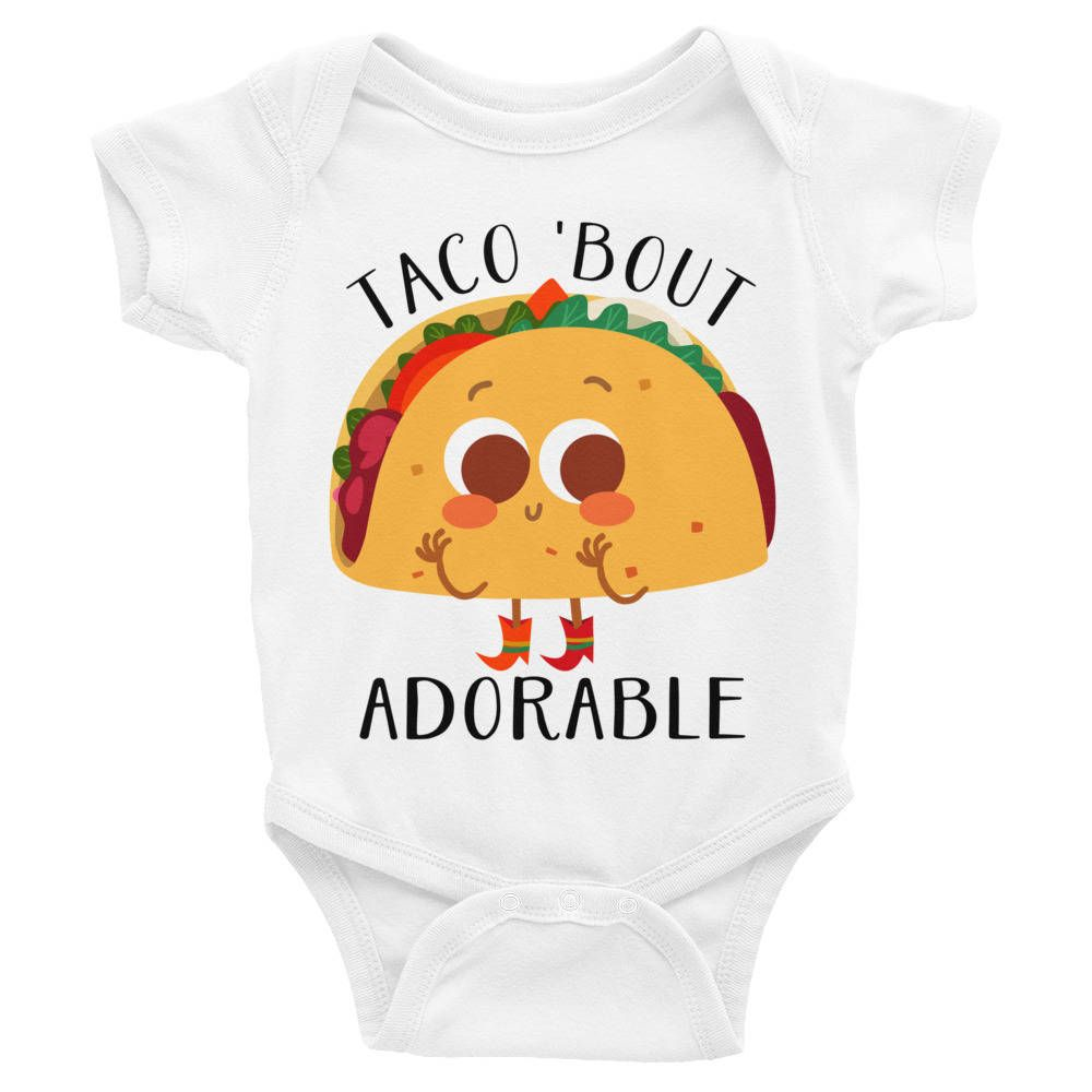 Baby Clothes Near Me New Funny Taco Infant Bodysuit Taco Baby Shirt Taco Baby Gift Cute Design Decoration
