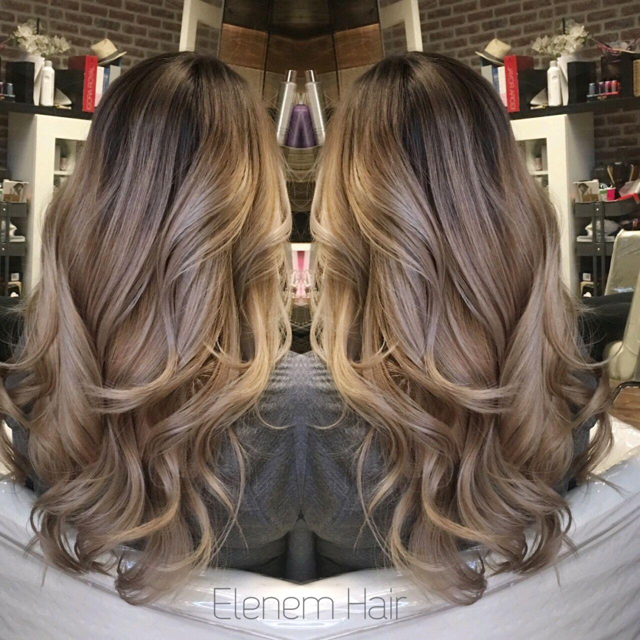 Blonde Balayage //rooty ash blonde | hair | Balayage hair ...