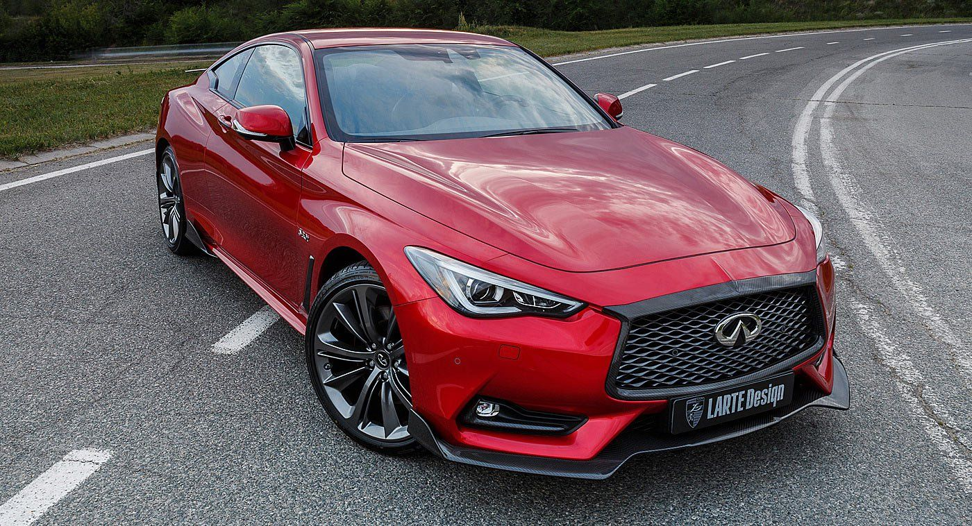 Larte Design Infuses Infiniti Q60s Coupe With Heaps Of Carbon Fiber Carscoops Infiniti Super Luxury Cars Coupe