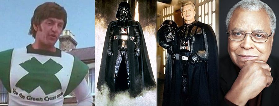 Green Cross Code Man David Prowse Body James Earl Jones Voice Darth Vader Earl Jones American Actors Actors