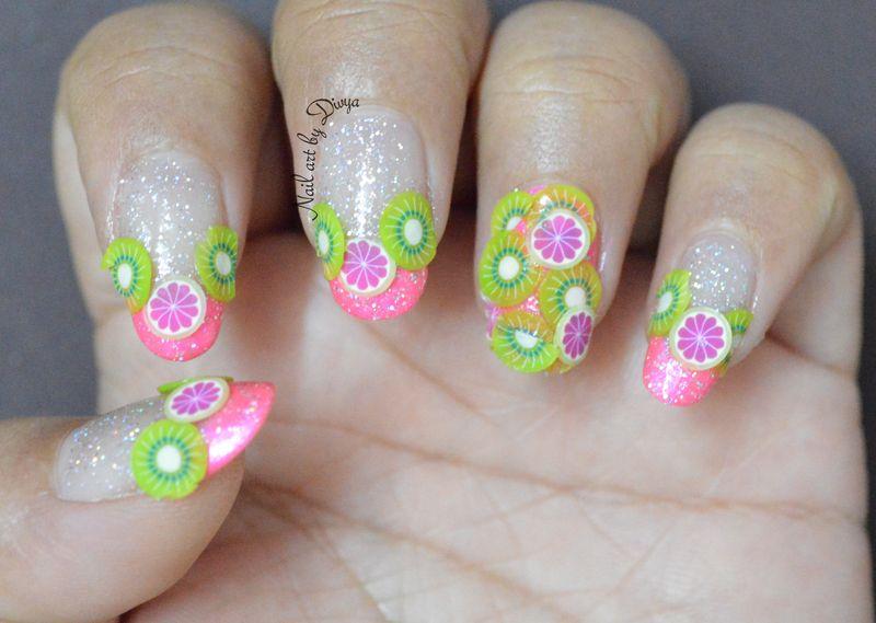 Kiwi and citrus nail art bmodish fb beauty aesthetic kiwi and citrus nail art bmodish prinsesfo Gallery