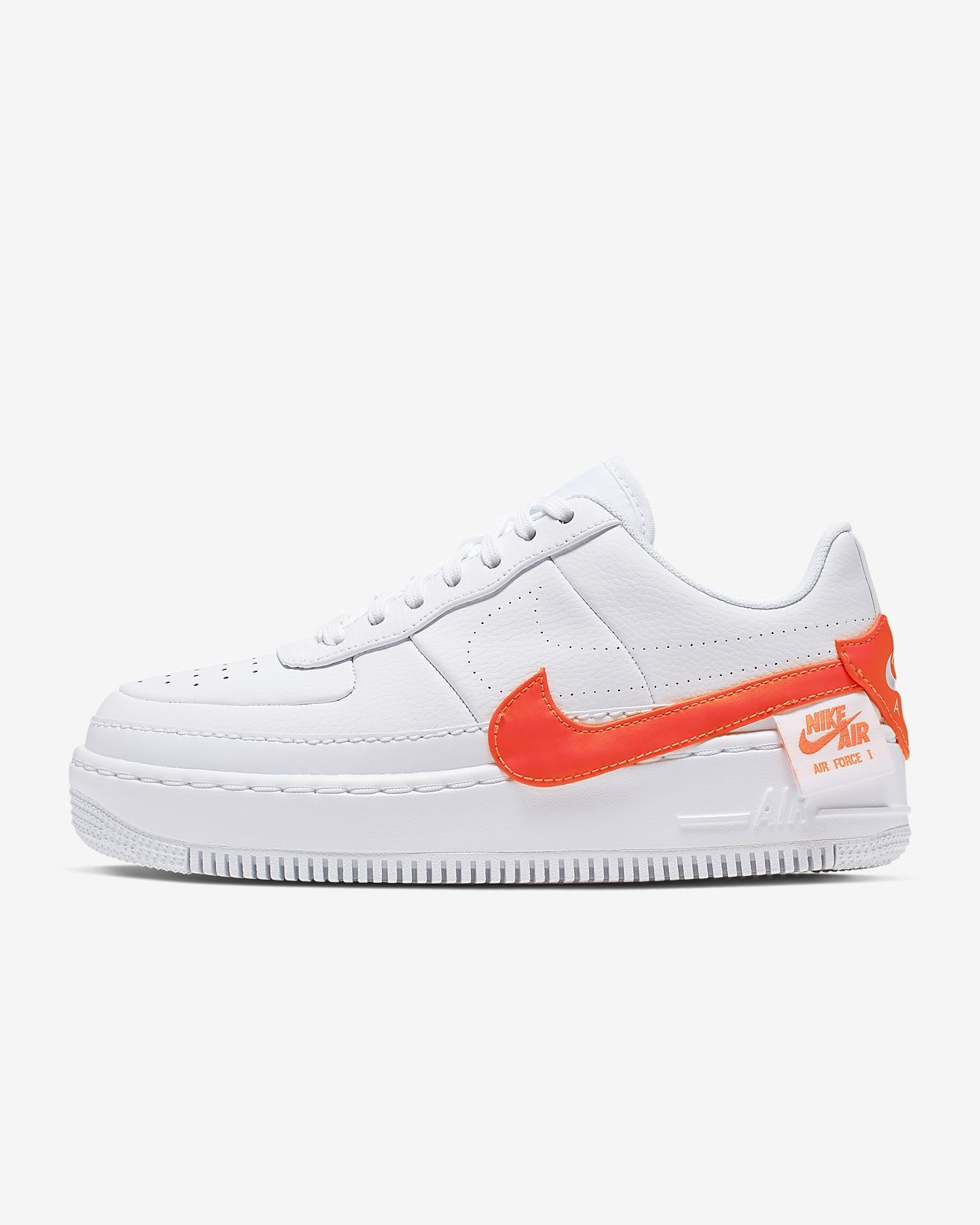 air force 1 orange fluo