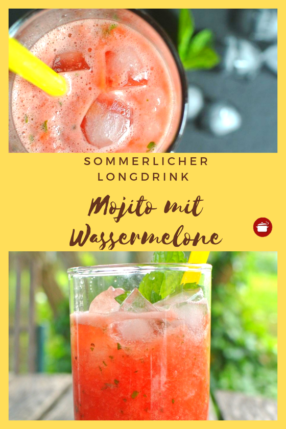 Mojito Wassermelone Wassermelone Mojito Wassermelone Cocktail