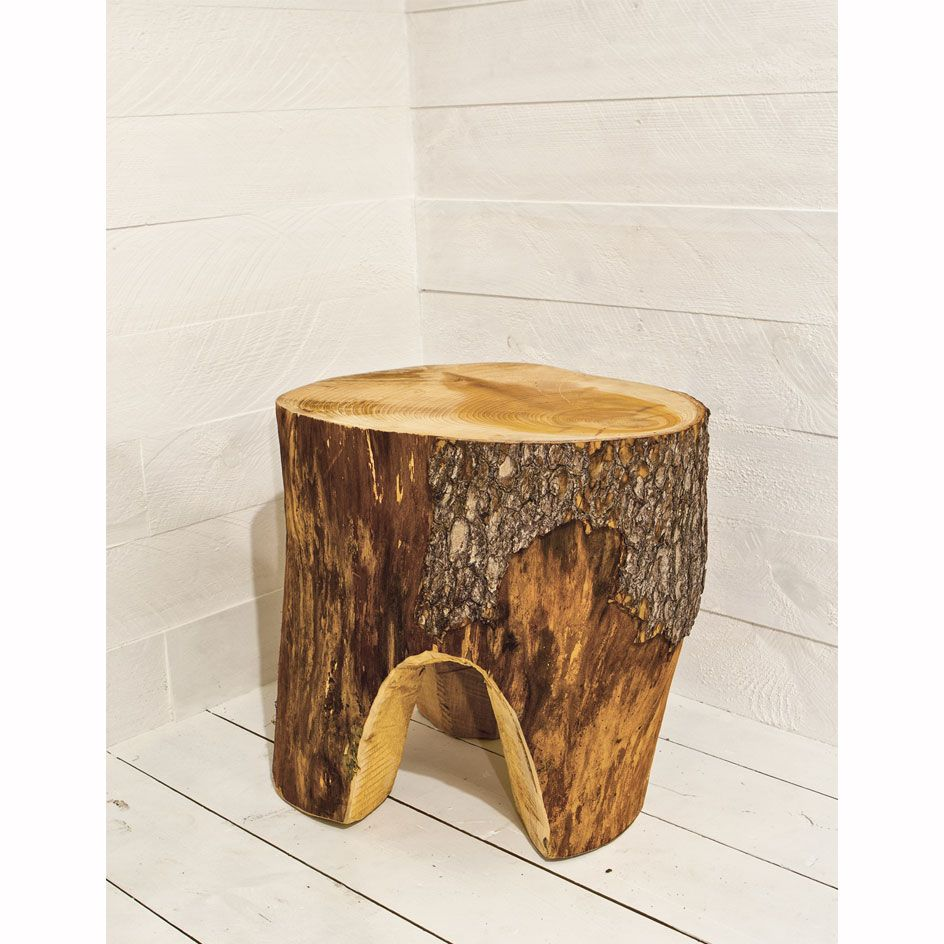 Exceptional Cedar Trunk Table / Stool. We Capture The Imitable Natural Form And The  Distinctive Grain. The Warm Tones Of The Natural Wood Will Add Atmosphere  To Your ... Home Design Ideas