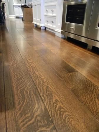 Balsam Wide Plank Quarter Sawn White Oak Floors With Soft Sed Edges