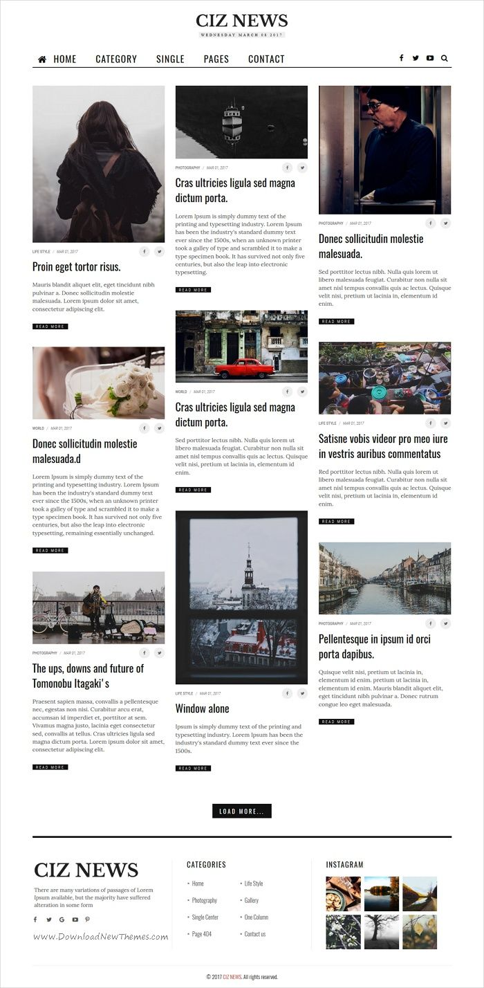 Pretty Html5 Magazine Template Gallery - Professional Resume Example ...