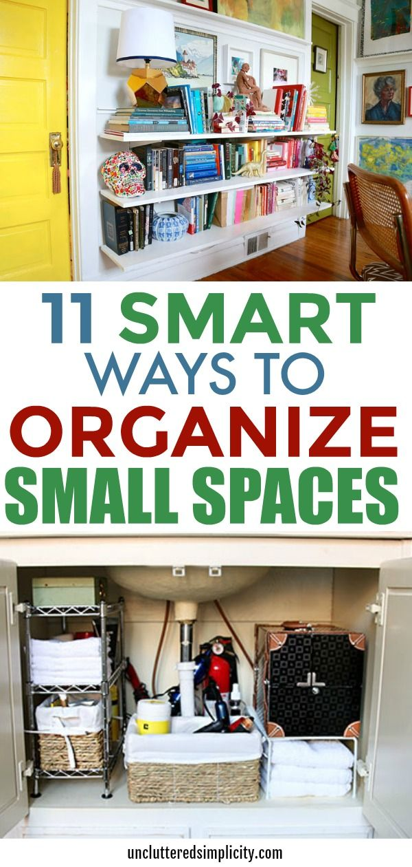 Storage Ideas For Small Spaces: 11 Tips To Organize A Small Home images