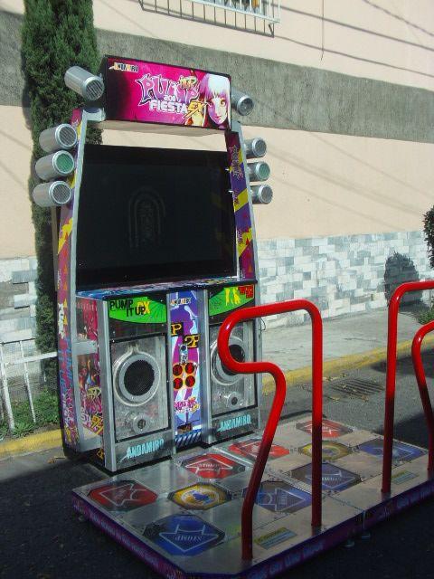 Renta de Máquina de Baile para Eventos (para 2 personas). Medidas: 2 ...