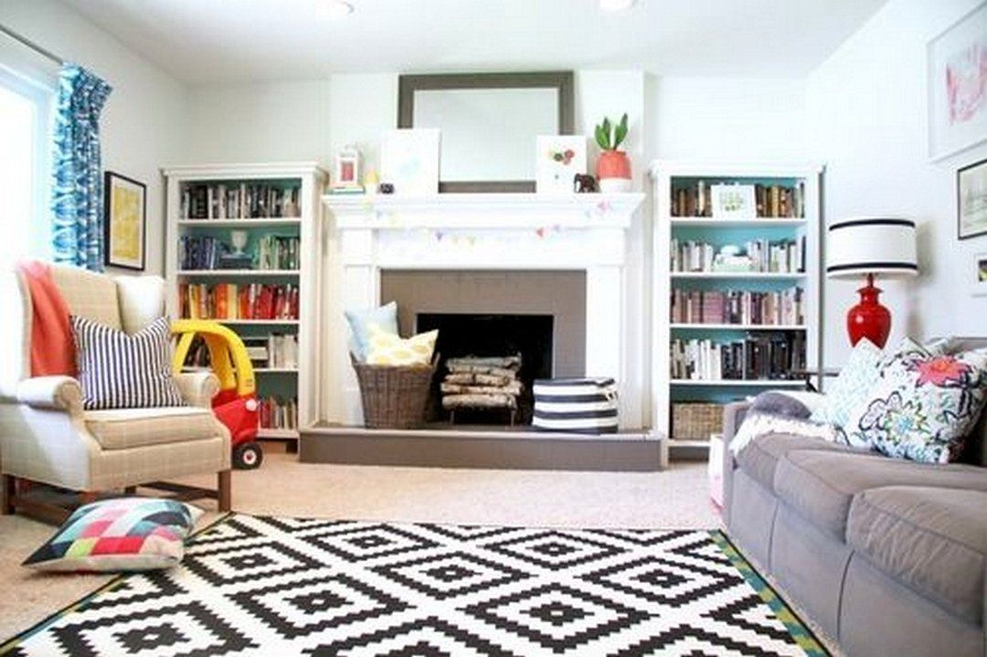 61 Family Friendly Living Room Interior Ideas images