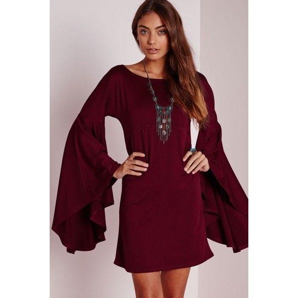 27++ Flare sleeve dress info