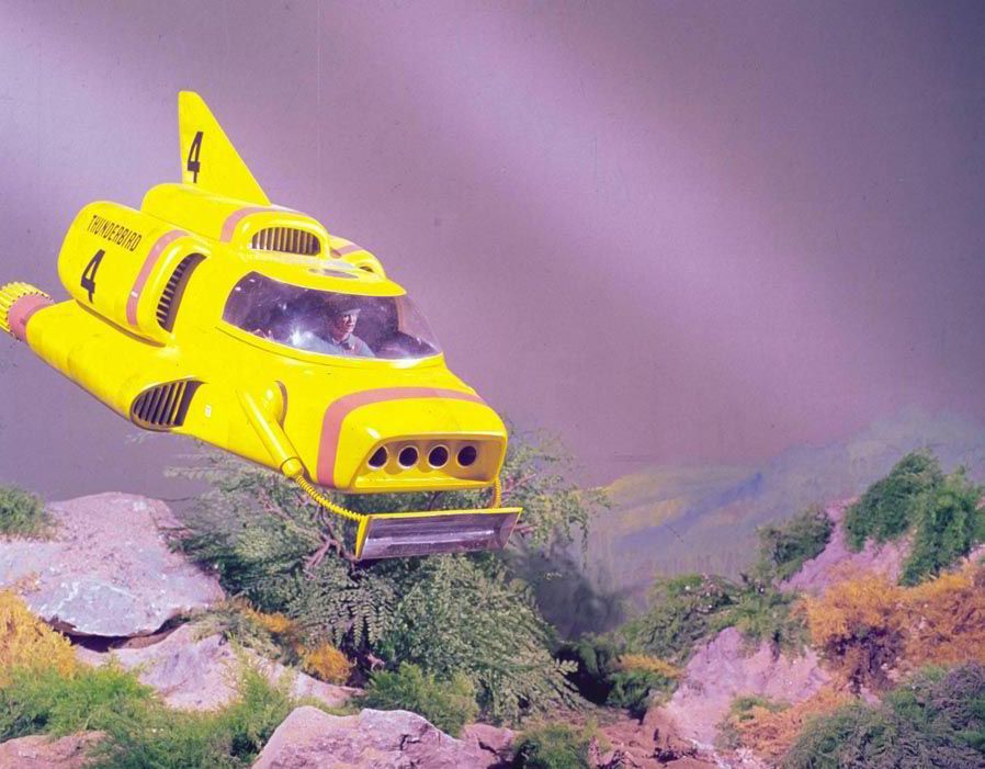 The famous yellow submarine