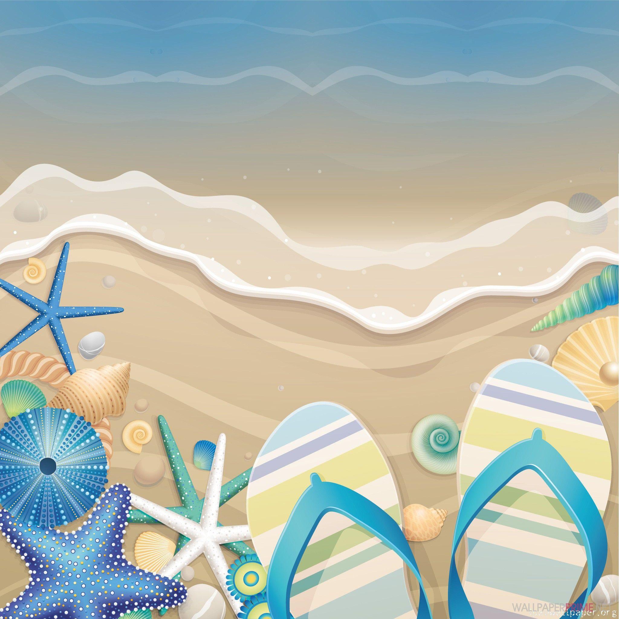 【イラスト】夏の海の思い出