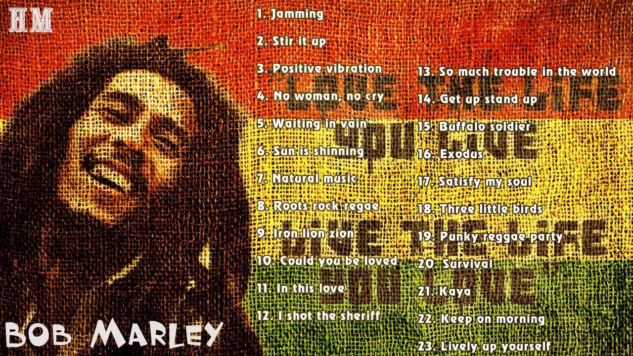 BOB MARLEY Greatest Hits Full Album | Best Songs Of Bob Marley | Bob Mar.