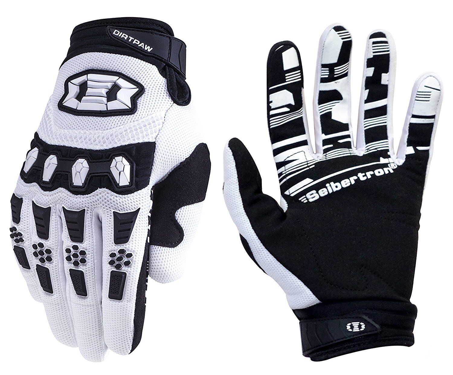 Seibertron Dirtpaw Unisex BMX MX ATV MTB Racing Mountain Bike Bicycle Cycling Off-Road//Dirt Bike Gloves Road Racing Motorcycle Motocross Sports Gloves Touch Recognition Full Finger Glove