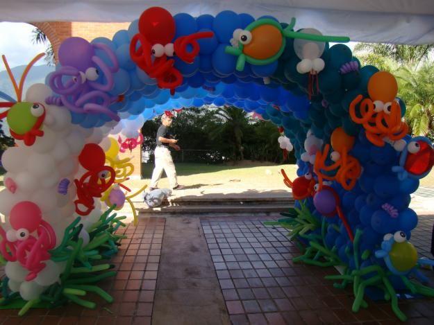 70207733 2 fotos de decoraciones de fiestas y eventos con - Decoracion con globos para cumpleanos ...