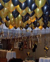 Another Example Of A Balloon Ceiling The Darker Colors Really