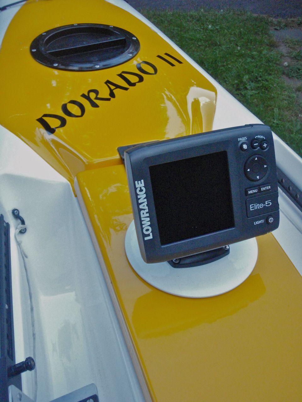 Kayak fish finder installation kayak fly guy blog posts for Canoe fish finder