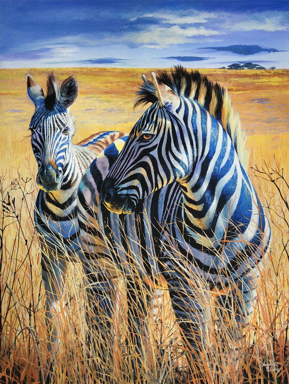 Zebra Limited Edition Original Print