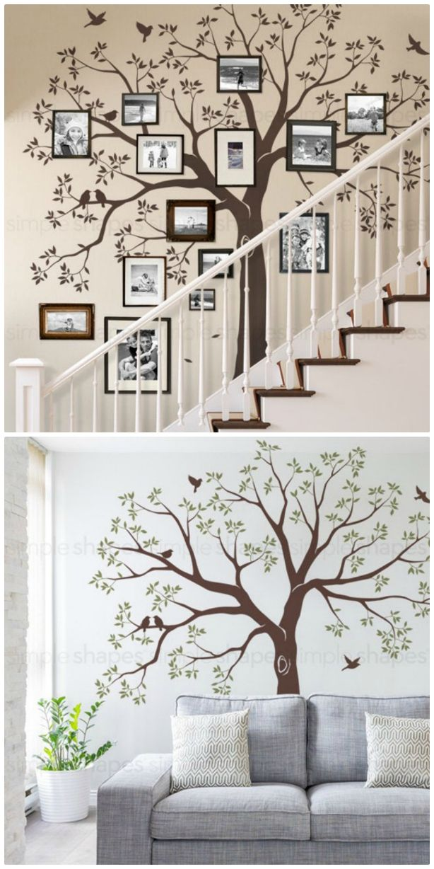 Add A Photo Frame Family Tree Decal To Your Home |
