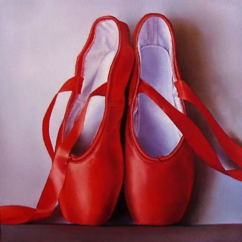 Ballet Red Shoes