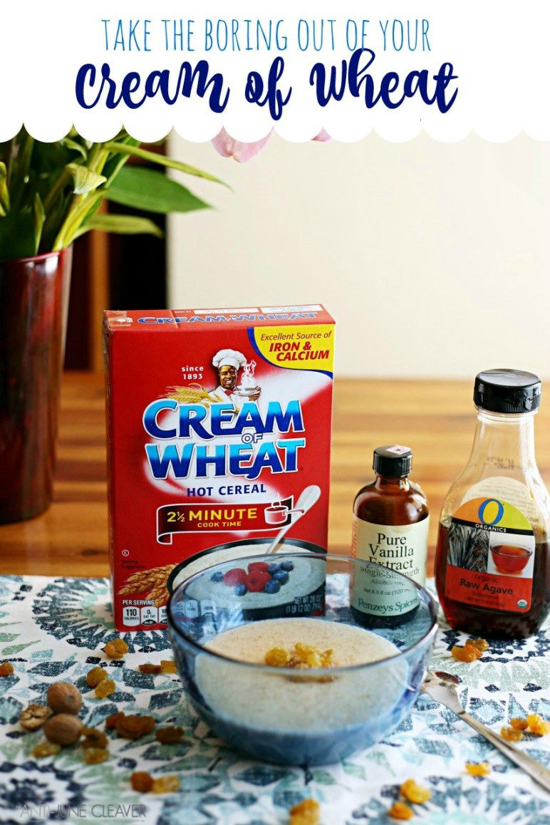 3 Cream Of Wheat Recipes Because Life Is Too Short To Eat Boring Cream Of Wheat Creamofwheat Creamofwheatrecip Wheat Recipes Cream Of Wheat Creamed Asparagus