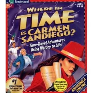 Where In Time Is Carmen Sandiego Game Giant Bomb Carmen Sandiego Carmen Sandiego Game Classic Video Games