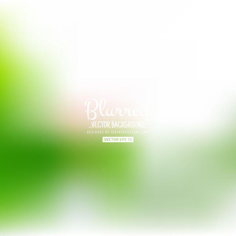 Light Green Blurry Background Dengan Gambar
