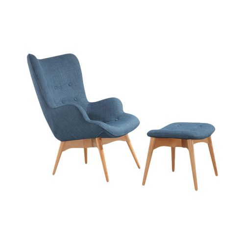 Brilliant Ali Wingback Chair Lights Camera Ottoman In Living Caraccident5 Cool Chair Designs And Ideas Caraccident5Info