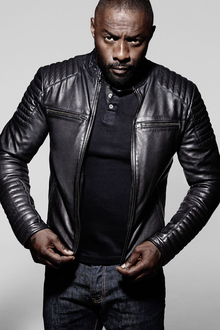 Idris Elba Channels James Bond With New Superdry Collection   People    Pinterest   Mode Homme, Veste and Vetement cuir 3d95eb8c076