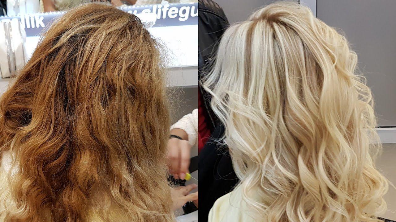 Platin Sarisi Rofle Yapimi Rofle Modelleri Haar Styling