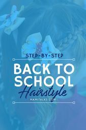 Back to School Step-by-step hairstyle for girls! #hairstyle #pigtails #girlhairs # loose Braids pigtails #loosebraids