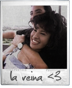 Selena Quintanilla in a scene from the No Me Queda Mas music video