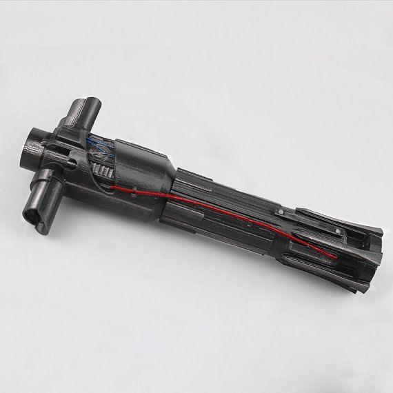 Kylo Ren Lightsaber Star Wars / Force Awakens / Cosplay / 3-D Printed