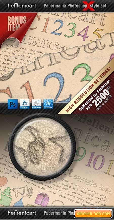 Hellenicart PENCIL & CRAYON Estilo Set 670446