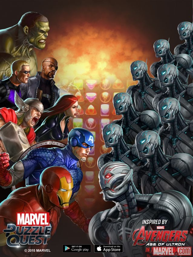 Marvel Puzzle Art