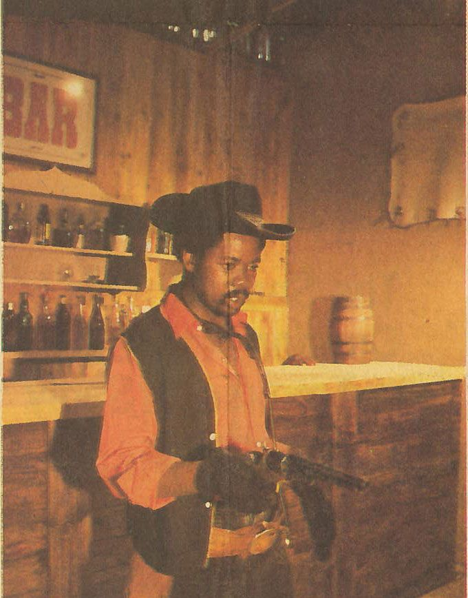 """One of our #VINTAGE newspaper articles from the 80's advertising """"Revenge"""". More on the film here: http://retroafrika.com/2014/12/01/revenge/"""